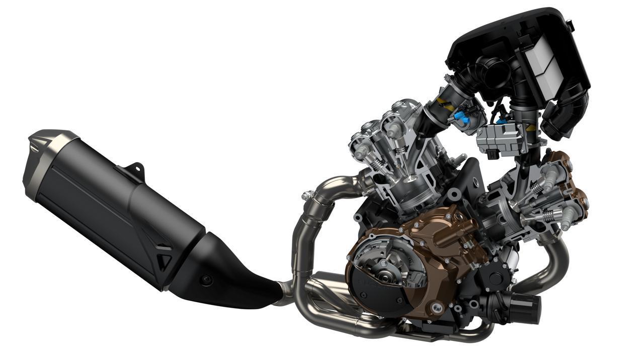 【EICMA 2019速報!】往年の「DR-BIG」ルックに最新技術満載でフルモデルチェンジ!スズキ V-STROM1050/XT【動画もあり】