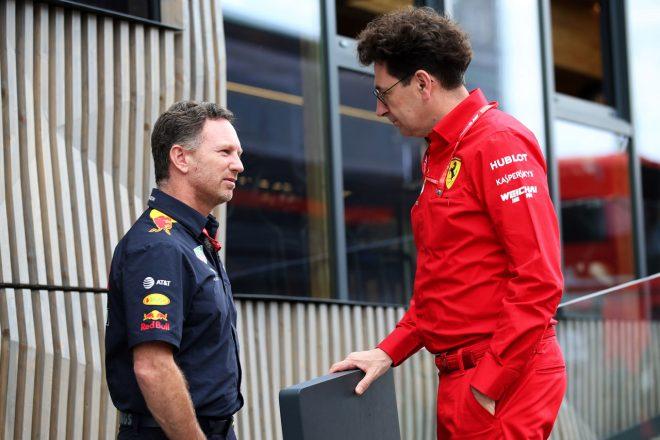 不正のうわさに激怒するフェラーリF1代表、レース後、レッドブルに直接抗議