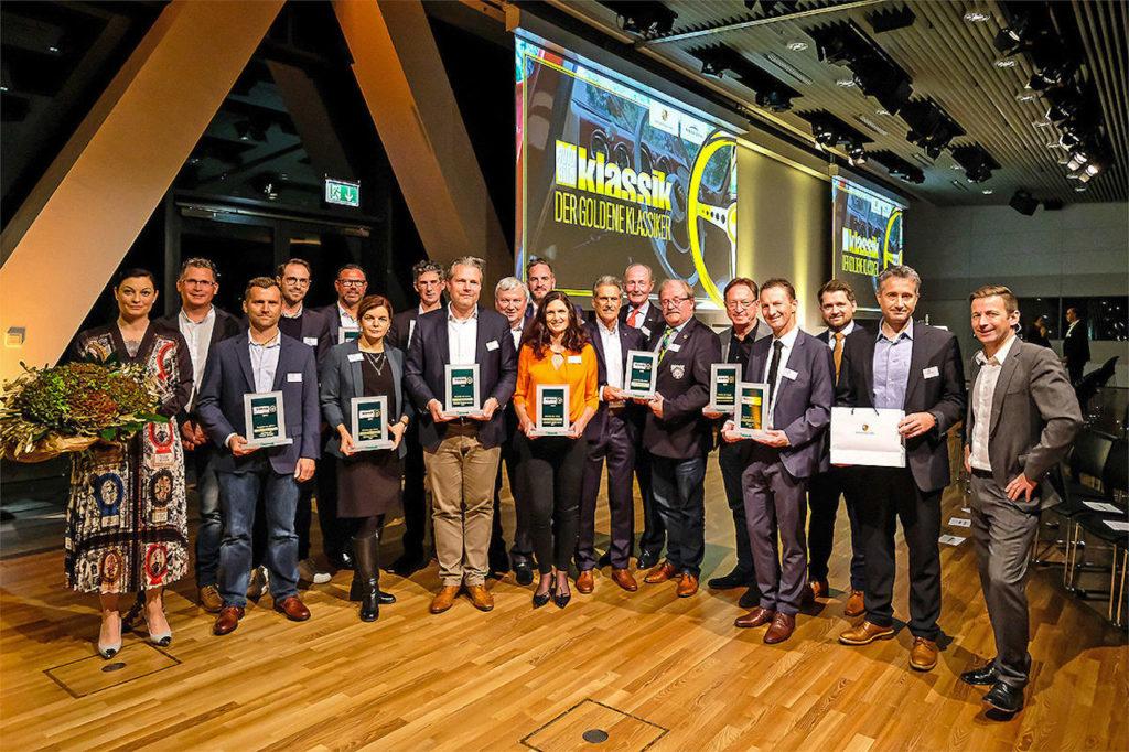 ドイツの『アウトビルト クラシック』誌が選ぶ「ゴールデン・クラシック賞」でメルセデスが4冠獲得