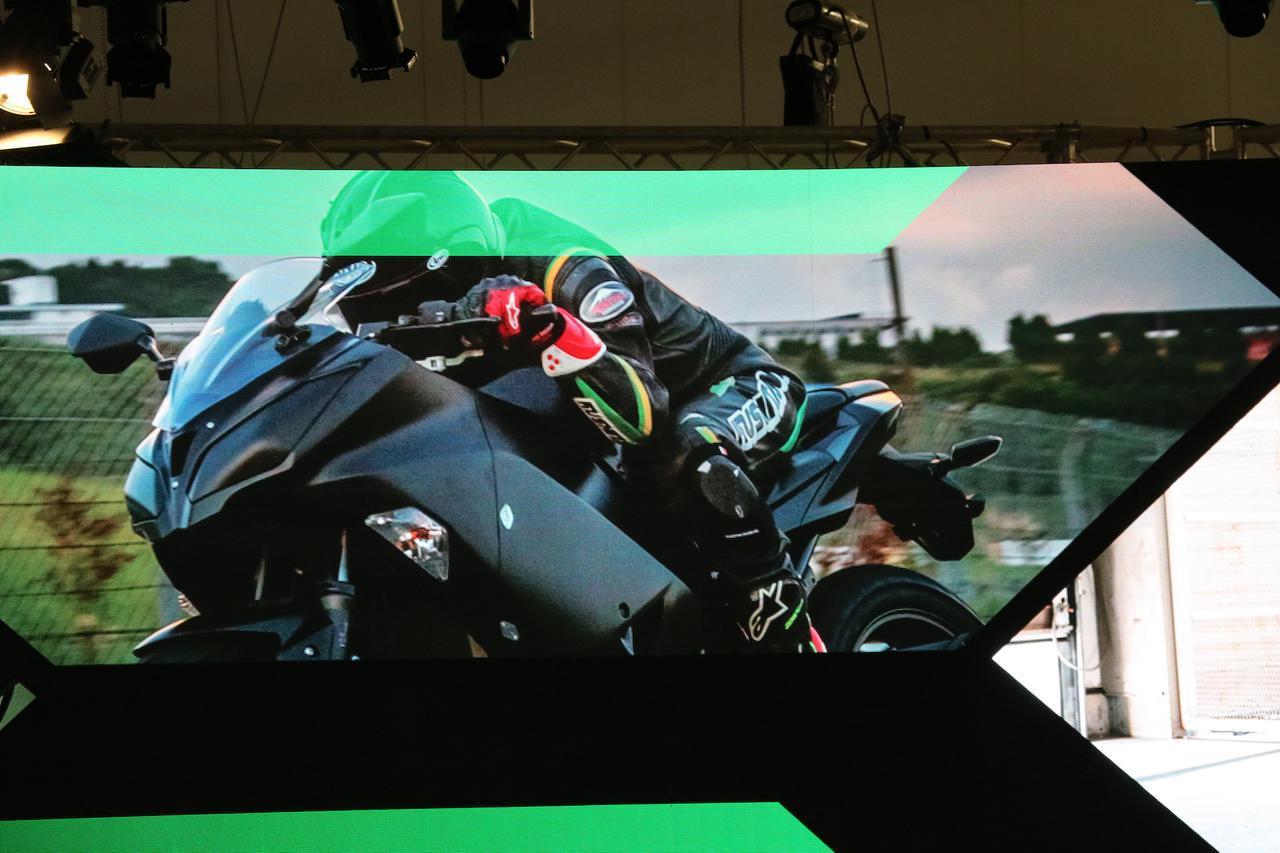 【EICMA 2019速報!】カワサキが突如公開した電動スポーツバイクの気になる内容とは?