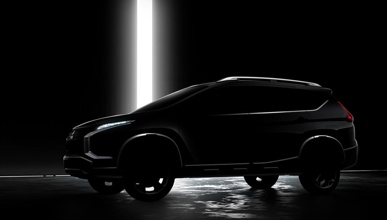 新種のSUVか? 三菱自動車がインドネシアで新型クロスオーバーMPVを世界初披露すると予告! 発表日は11月12日