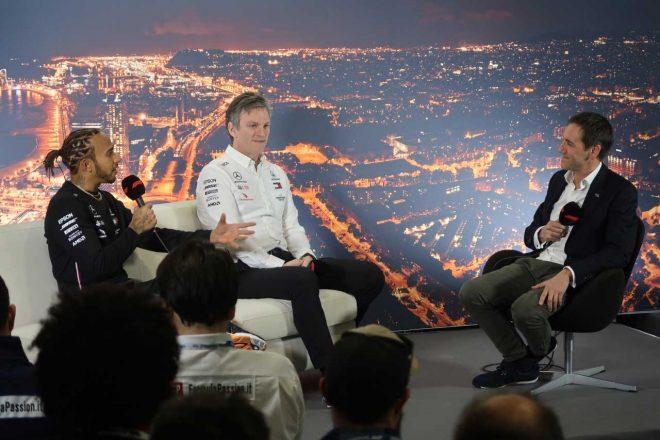 【ブログ】滑り気味ジョーク連発のメルセデス。ホンダからサプライズも/2020年F1バルセロナテスト現地情報(2)