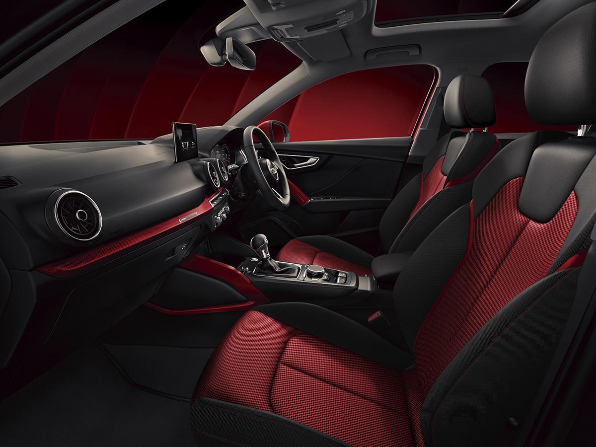 アウディQ2に情熱的な赤とスポーティな黒をテーマにしたふたつの限定モデルが登場