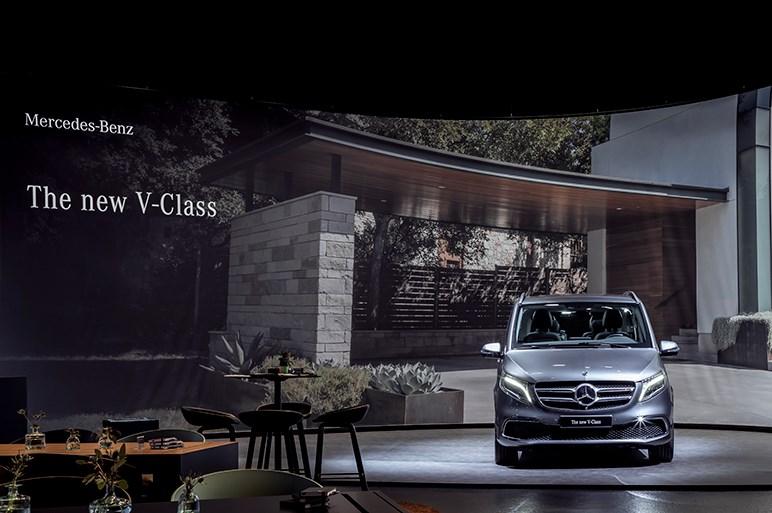 メルセデス、Vクラスのマイナーチェンジを本国で発表。新世代の4気筒ディーゼル&9速ATを採用