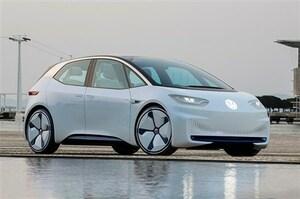 未来のVWゴルフと言われる電気自動車「I.D.」に初試乗した