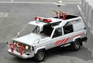 「西部警察」生誕40周年記念!キミはあのマシン、「サファリ4WD」を覚えているか?【File.7】