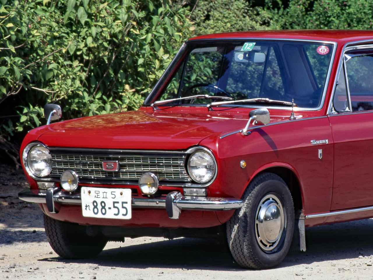 【昭和の名車 127】ダットサン サニーは、本格的モータリゼーションの牽引役だった