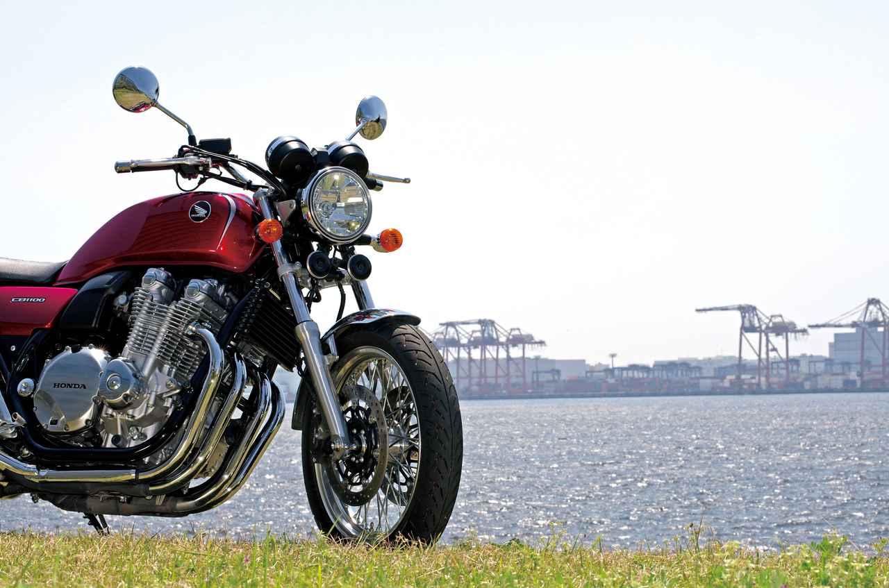 「日本人が日本人のために空冷四発を搭載して創ったオートバイ」『HONDA CB1100 EX/ABS』(2014年)