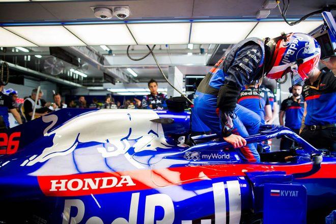 F1フランスGPで導入されたスペック3のホンダPUを評価するクビアト。「レースでの挙動はとても良かった」
