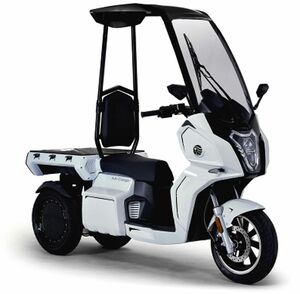 電動スクーターのaidea、国内生産の三輪スクーター「AAカーゴ」発売 配送用途など