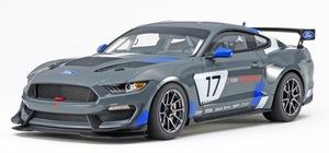 マッチョなフォルムのレース仕様。タミヤから「フォード マスタング GT4」を1/24スケールで再現