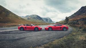 ポルシェの新型ピュアスポーツモデル、ポルシェ 718ボクスターT&718ケイマンTの予約受注スタート!