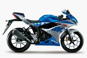 【価格と発売日】やっぱり出た!最速125ccスポーツバイクの『GSX-R125』にスズキ100周年記念カラーが追加。最強の原付二種が登場です!