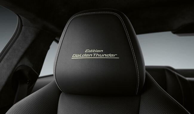 ブラック&ゴールドのカラーリングで内外装を彩ったBMW8シリーズの限定車「Edition Golden Thunder」が登場