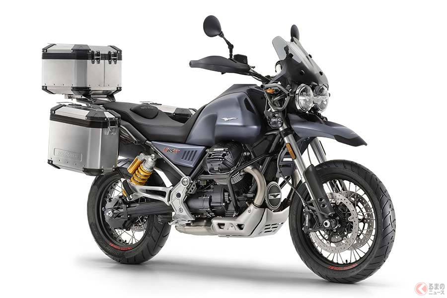 モトグッツィ「V85 TT」 長年で培った伝統と現代的な装備を両立【EICMA2018】