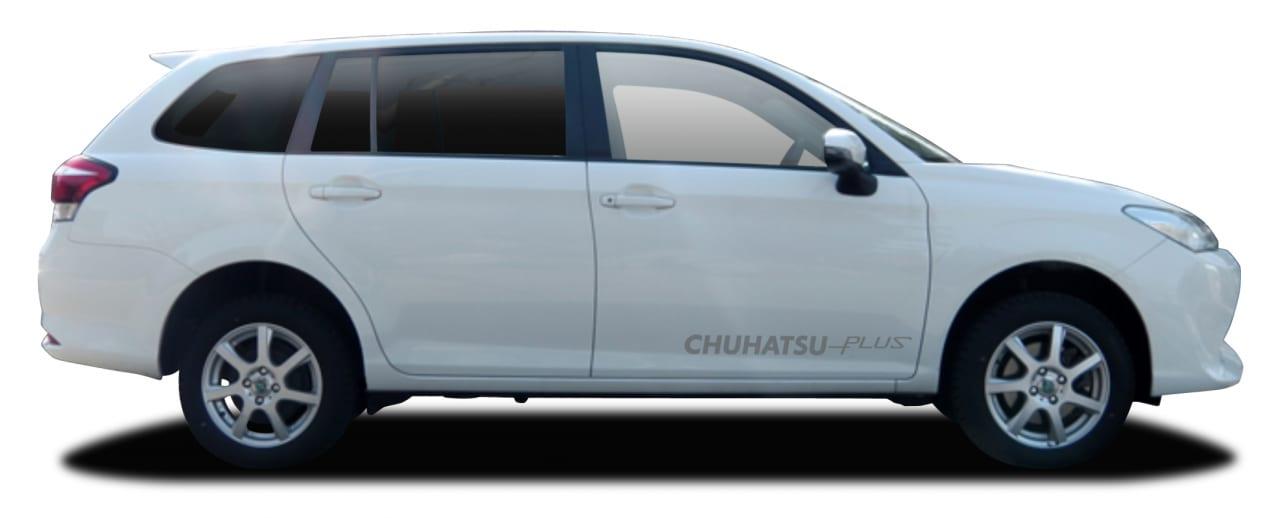 リフトアップしたトヨタ・カローラフィールダー4WDが作れます!