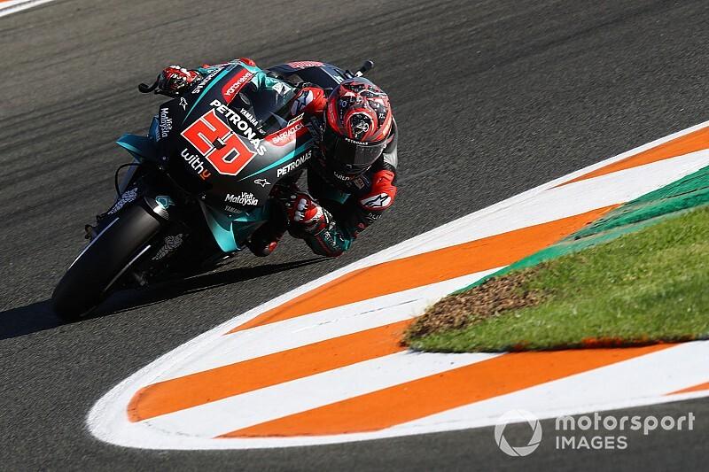 MotoGP最終戦バレンシアFP3:クアルタラロが首位譲らず。マルケス2番手で追う