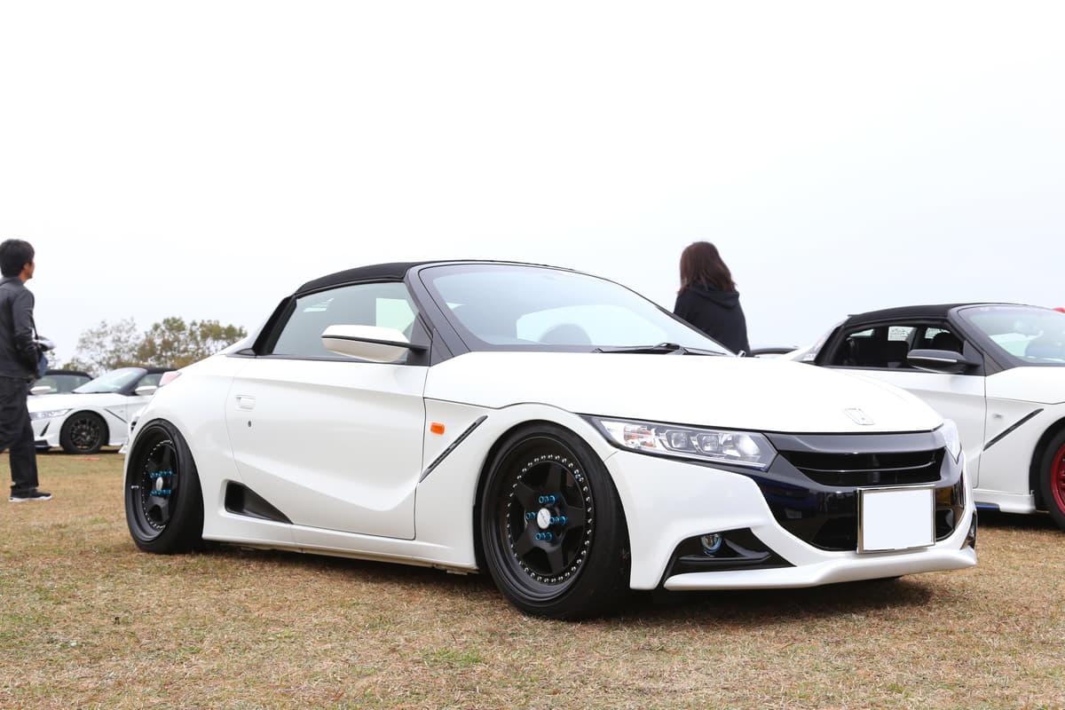 オーナーカーで見るホンダ S660「最新カスタマイズ実例」 見た目も楽しめて&走りもヨシ!!