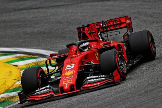 F1ブラジルGP FP2:フェラーリ勢が初日ワンツー、フェルスタッペンは3番手。トロロッソ・ホンダは2台にトラブル発生