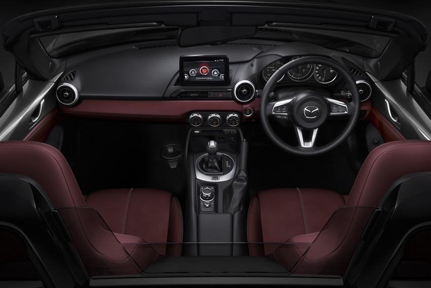 マツダ 「ロードスター」を一部改良&特別仕様車「シルバー・トップ」設定