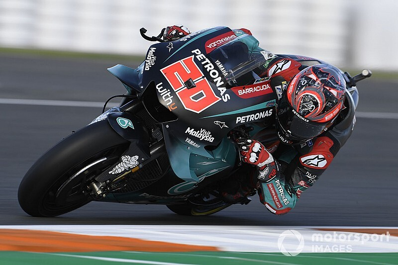 MotoGPバレンシア予選:初優勝目指すクアルタラロ、今季6回目のポール獲得