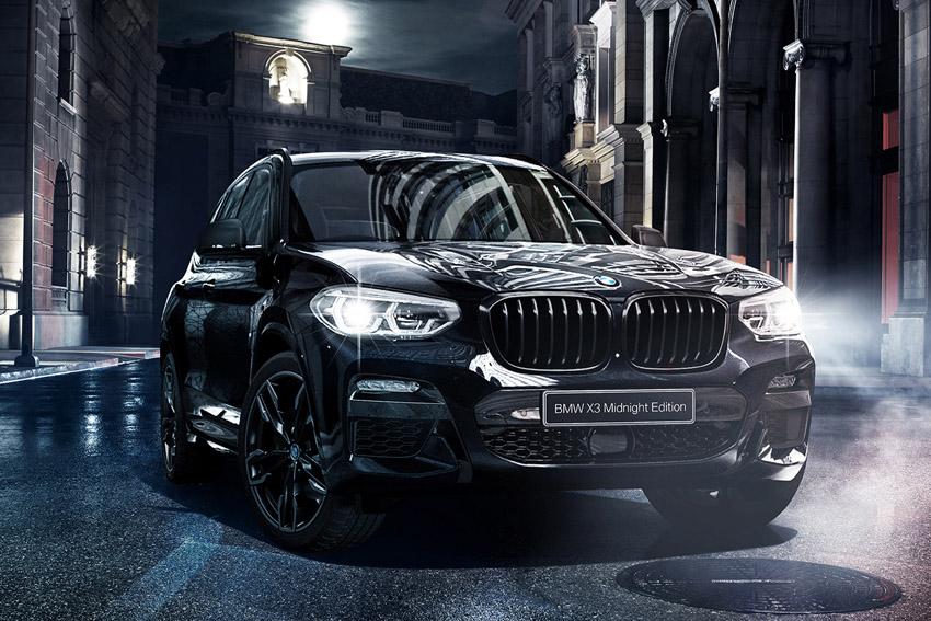BMW 漆黒の限定車「X3 ミッドナイト・エディション」発売