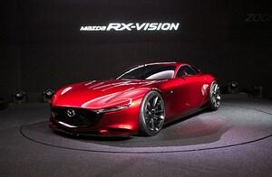 マツダ、東京オートサロンにコンセプトカー「マツダ RX-VISION」等を出展