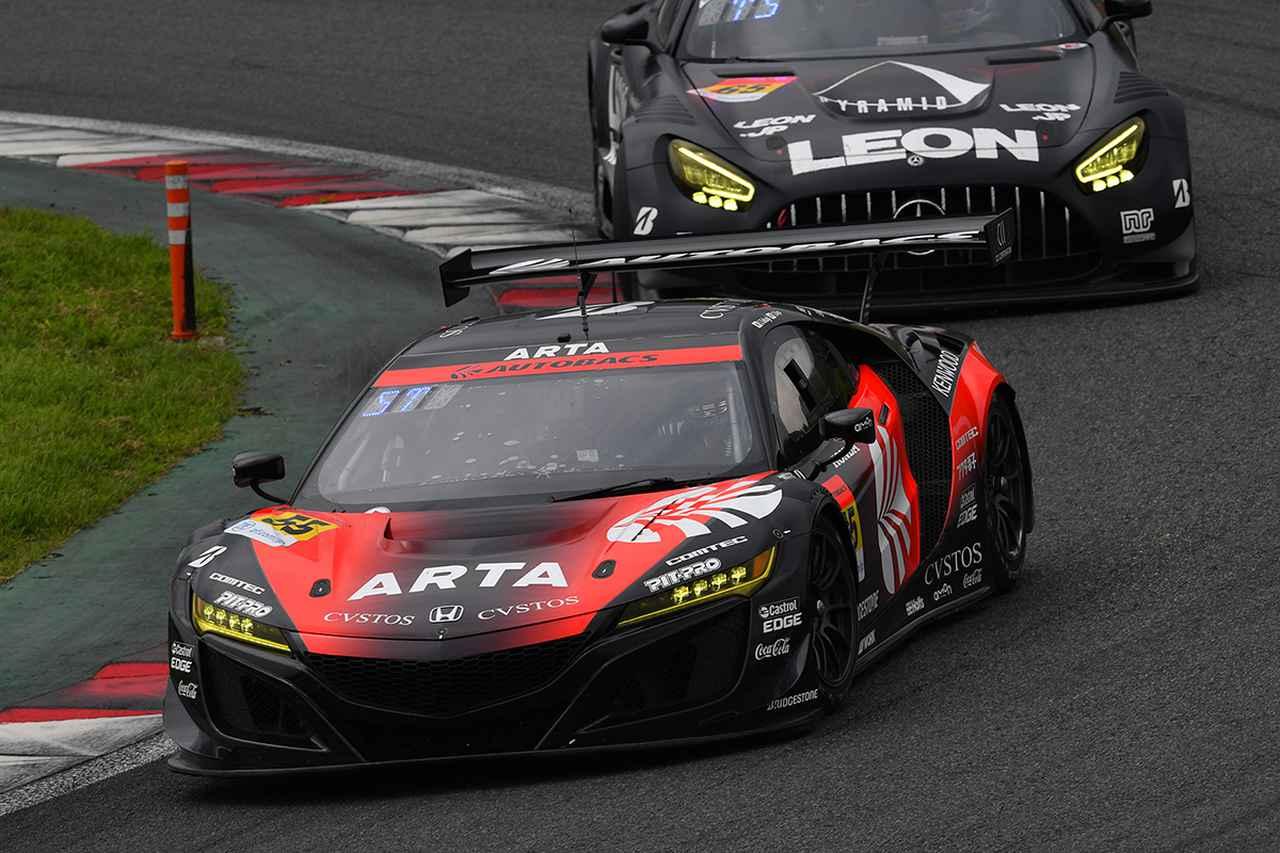 シンティアム・アップル・ロータスが10年ぶりの勝利!【スーパーGT Rd02富士SW GT300クラス】