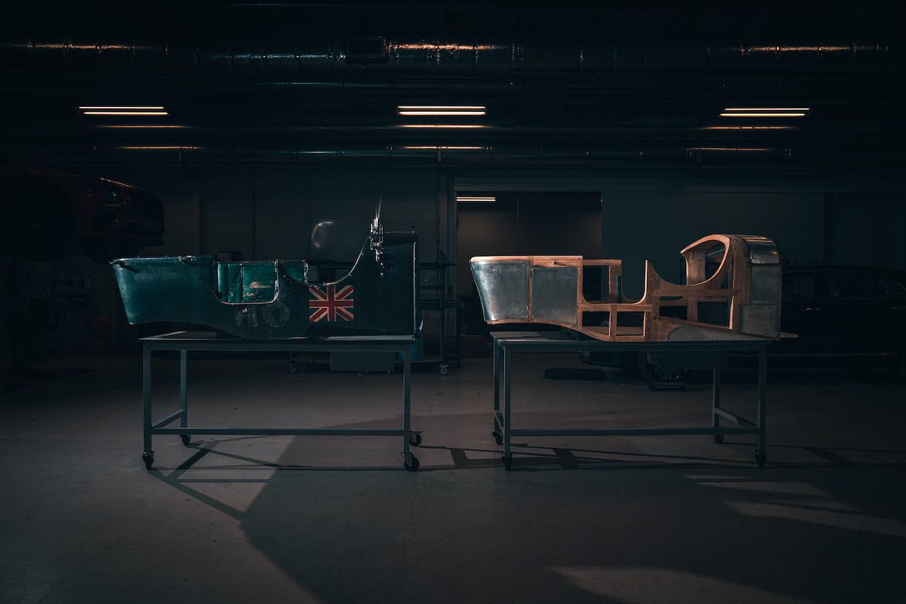 「ベントレー チーム ブロワー」完全復刻プロジェクト、先行プロトタイプの組み立てがスタート!