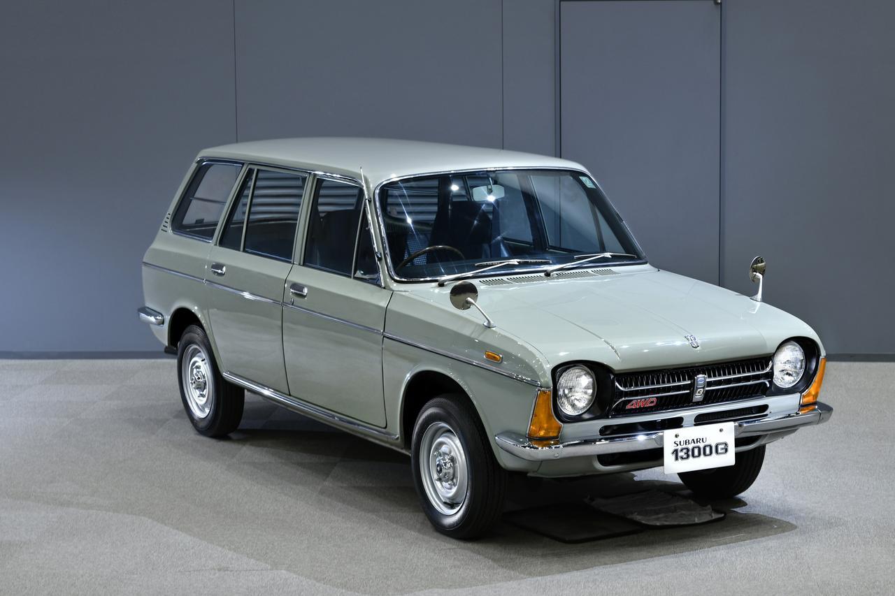 【自動車博物館へ行こう】現在のSUBARUの技術的原点は ff-1 1300G 4WDバンにあった
