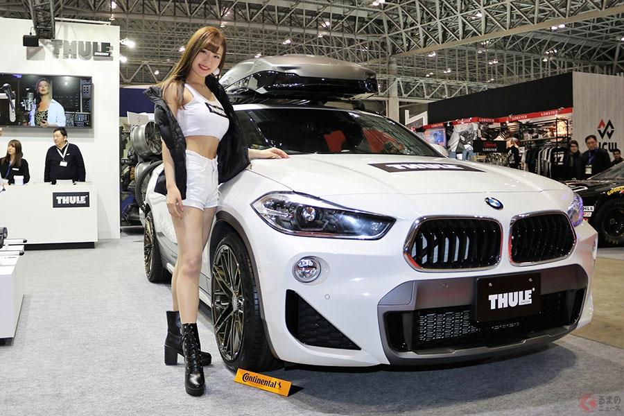 キレイ系の美女たちがカスタムカーの祭典『東京オートサロン』に大集結!