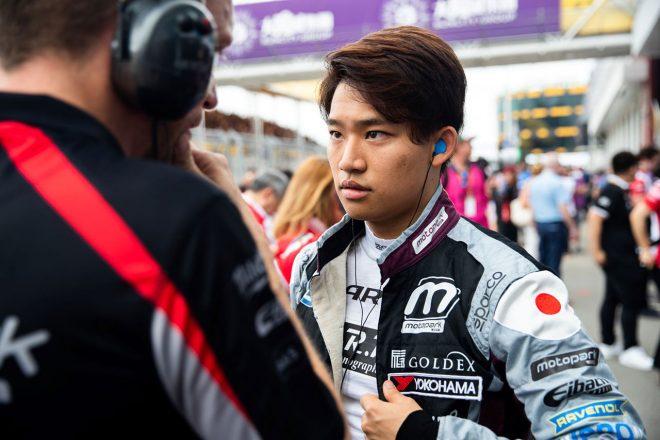 ヨーロピアンF3戦った佐藤万璃音がF2テストに参加。「自分のレース人生の財産とするため」