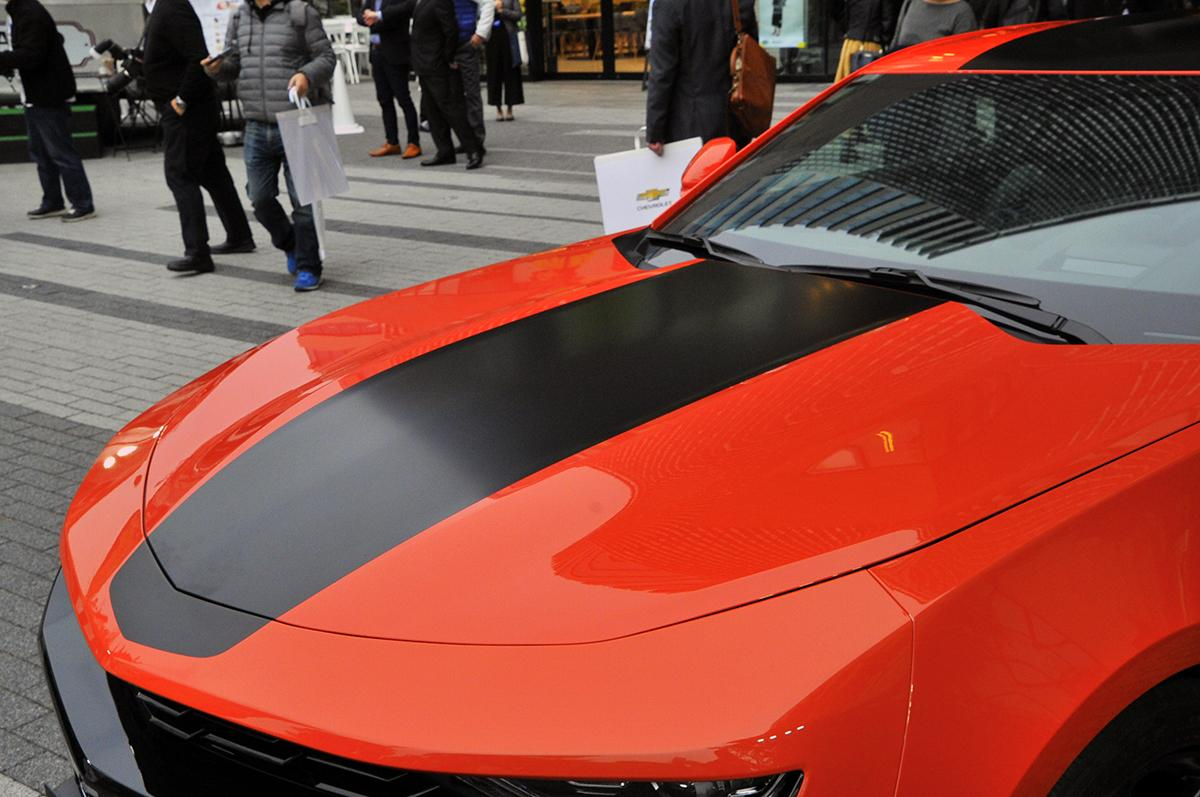 スポーティ度がグッと高まった新型シボレー カマロが日本上陸! 529万2000円から