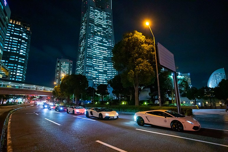 ランボルギーニのファンイベント「Lamborghini Day Japan 2018」に200台超の猛牛集結