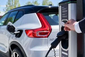 「XC40リチャージP8」向け! ボルボが欧州全域でEV用充電サービスを提供