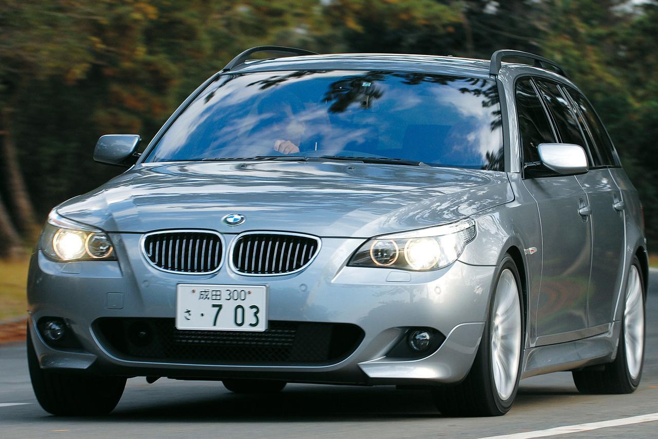 【ヒットの法則278】BMW 550iツーリングの底なしのトルク感はかつてのM5ツーリングを思い出させた