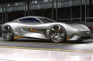 【スポーツカー、セダンの未来】次期ジャガーFタイプ AUTOCAR予想図 XE、XFの将来は?
