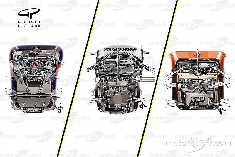 【2020年F1メカ解説】トップ3チームで考え方が分かれた……2020年F1マシンのサスペンションレイアウト