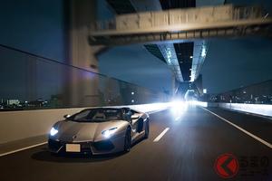 ランボルギーニ「アヴェンタドール」で楽しむ東京クルージング周回コース【首都高ループドライブ:01】