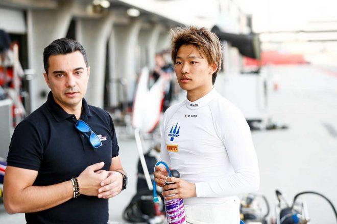 FIA-F2参戦の佐藤万璃音に聞くシリーズの現状。マシンはバーレーンに留め置き、開幕の情報は「まったくなし」