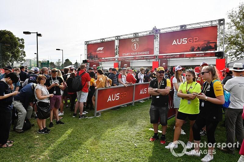 """F1オーストラリアGP、コロナウイルスで急きょ中止……""""嵐の朝""""をオーガーナイザー語る"""