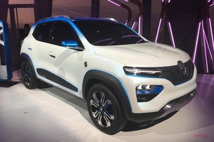 ルノーK-Ze発表 SUV風の小型EV 中国市場を意識