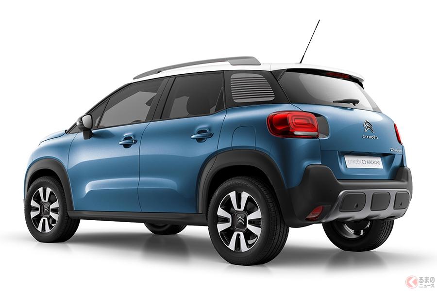 CX-3のライバル輸入SUV  259万円からのシトロエン「C3 エアクロスSUV」発売