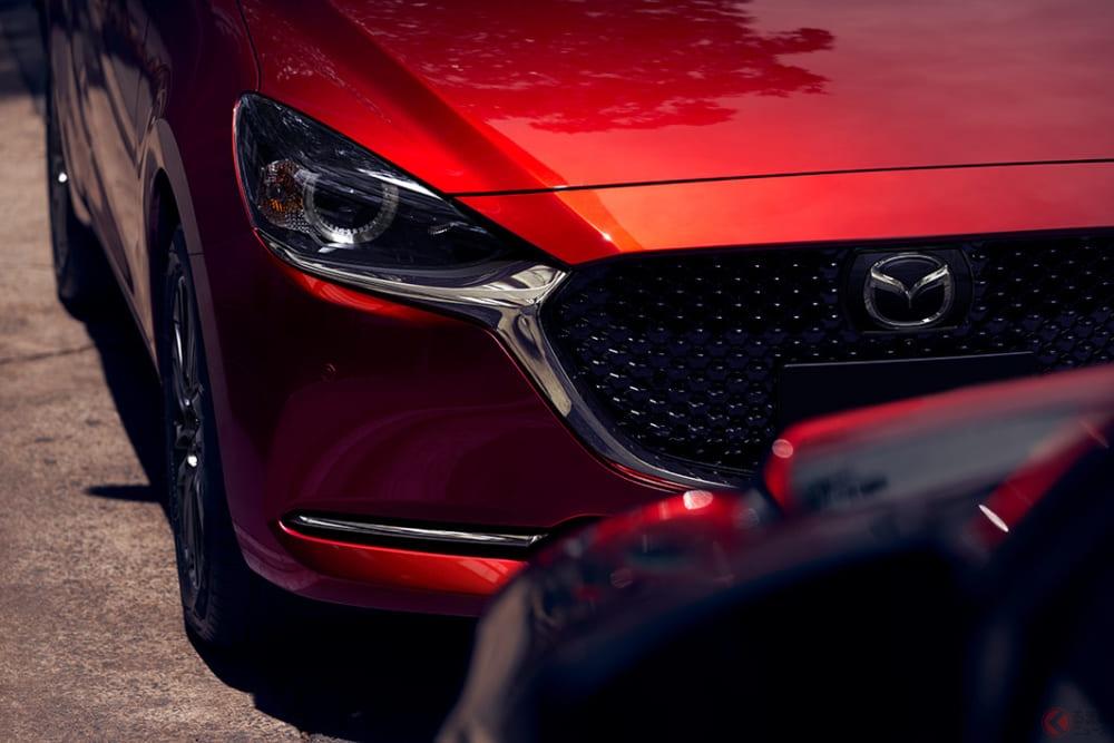 マツダの基幹車「デミオ」も消えた! 車名は「マツダ2」へ デザイン刷新で9月発売