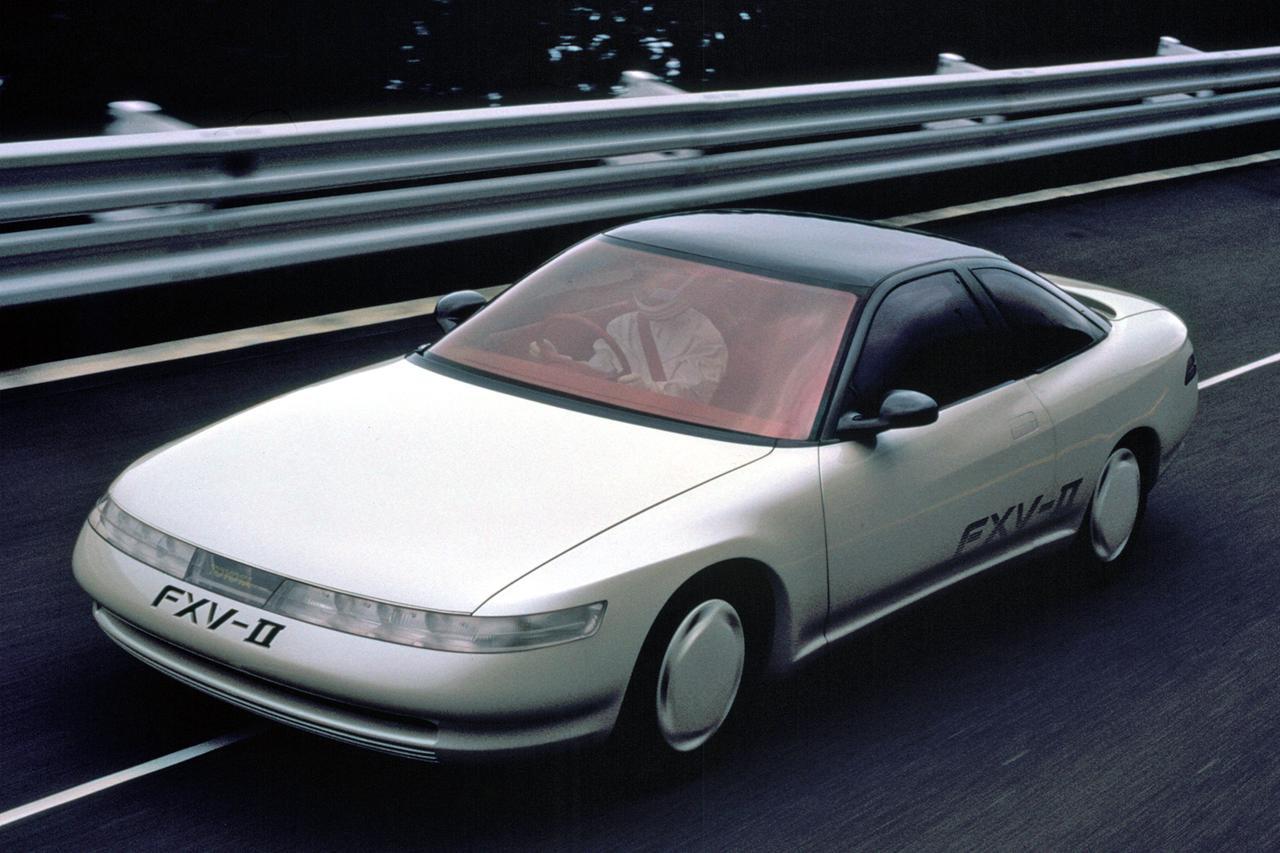 【懐かしの東京モーターショー 11】1987年、三菱 HSRのテクノロジーは後のVR-4やランエボに繋がる