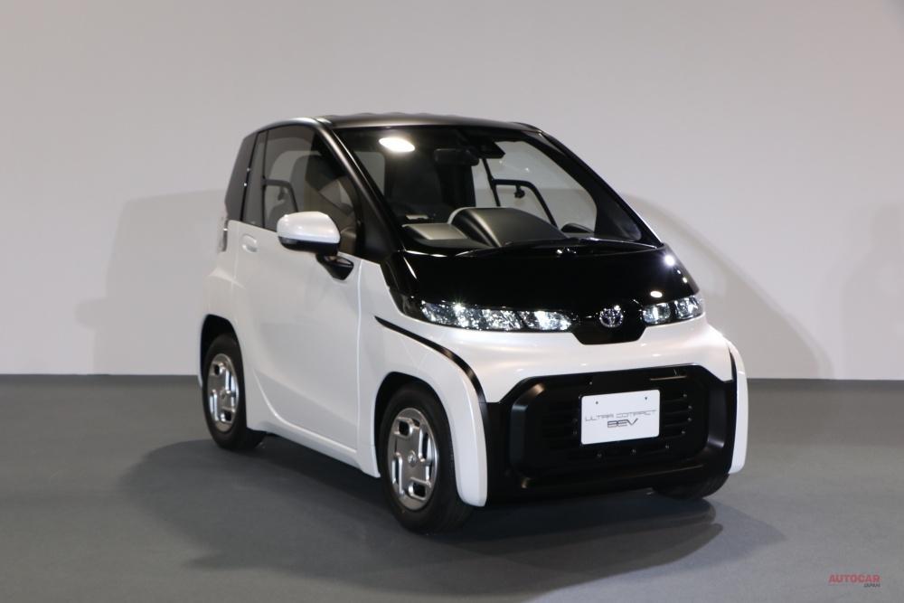 EV戦略の要 トヨタ「超小型EV」 5h充電で100km走行、シティコミューター