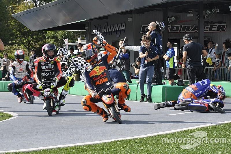 """【MotoGP】プレイベントは""""ルール無用""""! MotoGPライダー、ペナルティ必至の走りでファンを沸かす"""