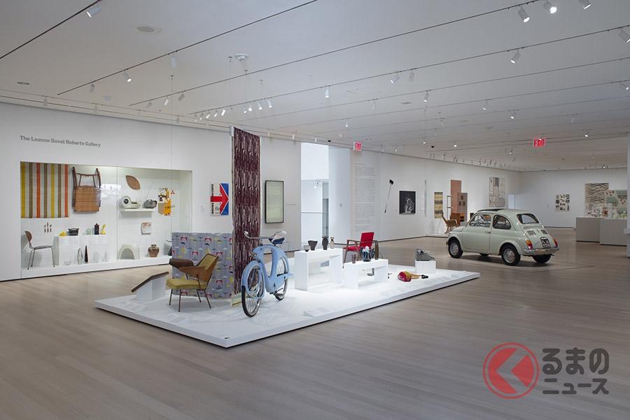 MoMAに永久収蔵されるクルマは、どれもカワイイ顔だった!