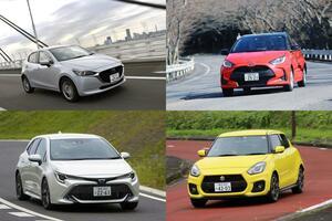 免許取得者は減ってもガンバる日本車! じつは多いスポーツカー以外の国産MTモデル