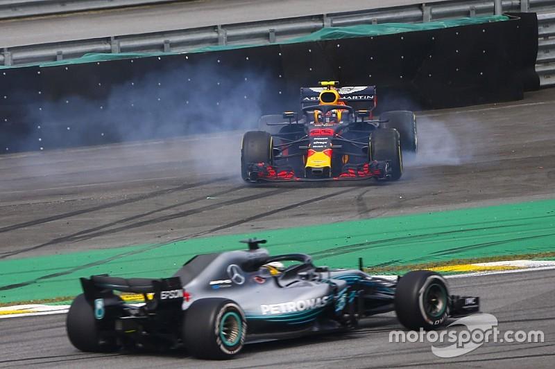 ハミルトン「フェルスタッペンとオコンの接触はレーシングインシデント」/F1ブラジルGP決勝